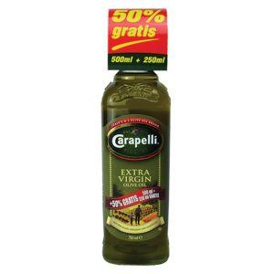 Carapelli extra virg maslinovo ulje 0.5l+0.25l gratis!