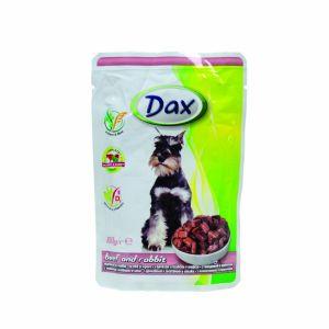 Dax kesica za pse - govedina i zečetina 100g