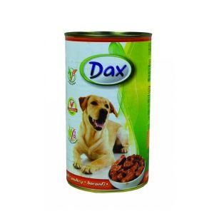Dax za pse sa mesom živine - konzerva 1.240g