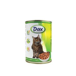 Dax za mačke sa zečetinom - konzerva 400g