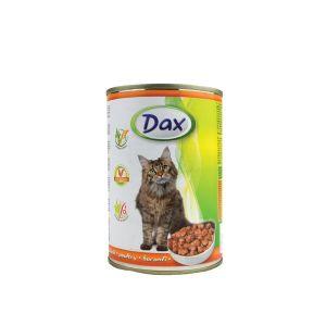 Dax za mačke sa živinskim mesom - konzerva 400g