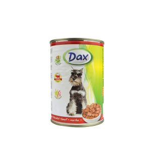 Dax za pse  sa govedinom - konzerva 400g