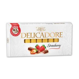 Baron Delicadore čokolada sa jagodom u štanglicama 200g