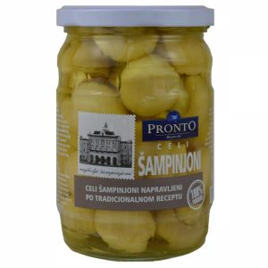 Pronto šampinjoni celi 580ml