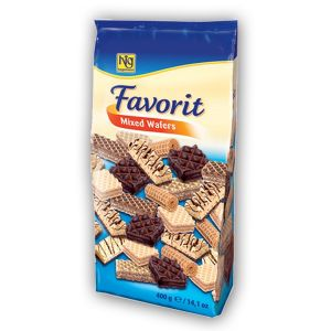 Hagemann Favorit mixed wafers 400g