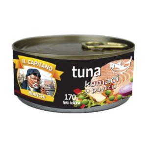 Il Capitano tunjevina komadi u povrću 170g
