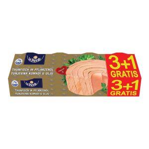 La Perla tunjevina komadi 80g 3+1 GRATIS