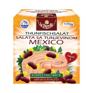 La Perla tunjevina komadi u povrću 170g- Mexico