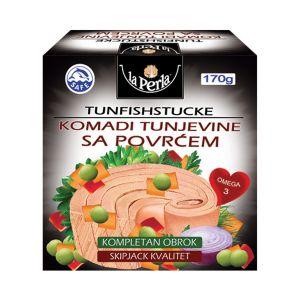 La Perla tunjevina komad u povrću 170g