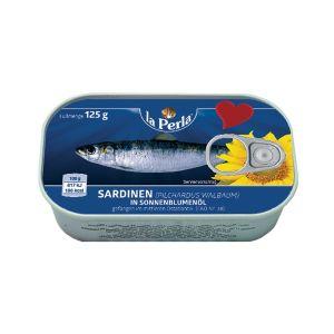 La Perla sardine u biljnom ulju 125g