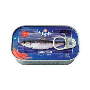 La Perla sardine sa piri papričicom 125g