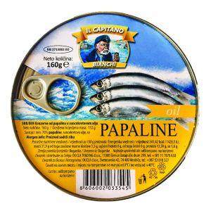 Il Capitano papaline u ulju 160g