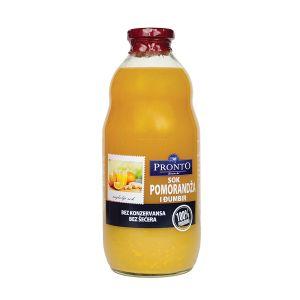 Pronto sok pomorandža, đumbir i limun 1l
