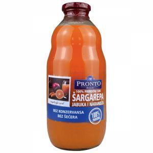 Pronto sok šargarepa, pomorandža i jabuka 1l - 100% prirodno