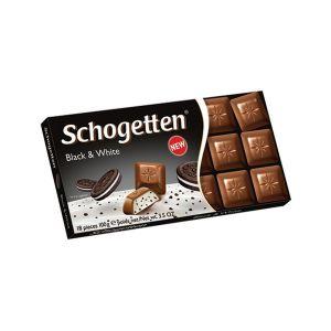 Schogetten black&white cokolada 100g