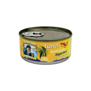 Il Capitano tunjevina komadi u EV maslinovom ulju 160g