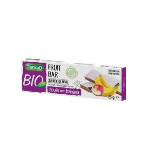 DankaD Bio Organic fruit bar apple and banana 25g