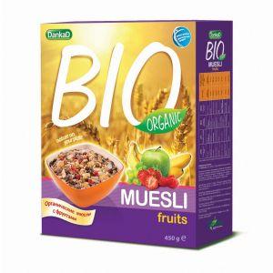 DankaD BIO Organic Muesli Fruits 450g