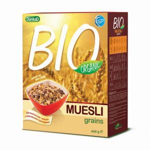 DankaD BIO Organic Muesli Grains 450g