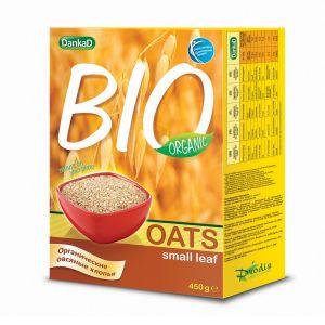 DankaD BIO Organic Oats Small Leaf 450g