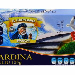 Il Capitano sardine u ulju 125g