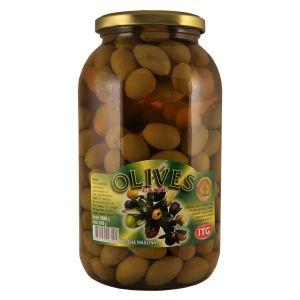 Olives zelena maslina tegla SK 1.5kg