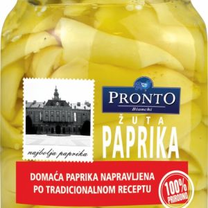 Pronto barena paprika žuta 720ml