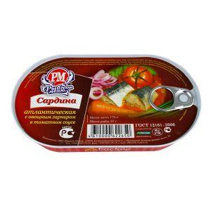 Roskon - sardina sa povrćem u paradajz sosu 175g