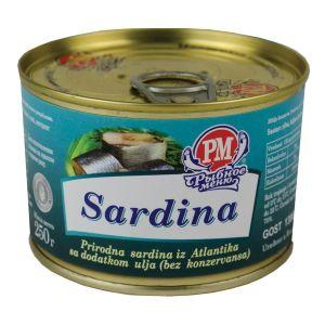 Roskon - sardina atlantska 250g
