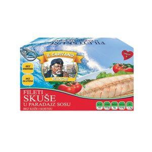 IL Capitano skuša fileti u paradajz sosu 115g