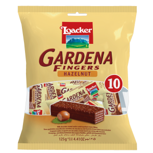 Loacker Gardena fingers lesnik 125g kesa