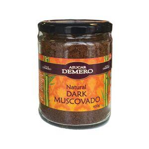 Demero Dark Muscovado 400g - teglica