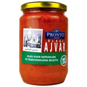 Pronto ajvar blagi 720ml