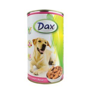 Dax za pse  sa teletinom - konzerva 1.240g