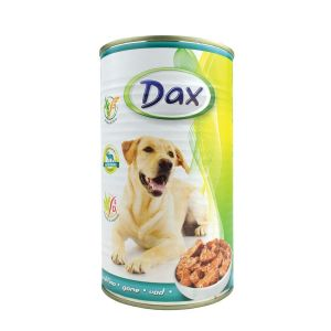 Dax za pse sa mesom divljači - konzerva 1.240g