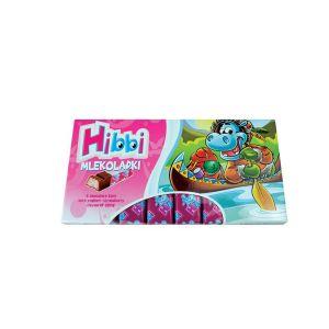 Hibbi Mlekoladki sa jagoda - jogurt kremom 100g