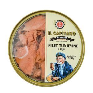 Il Capitano fileti tunjevine u ulju 160g TL