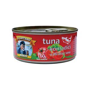 Il Capitano tunjevina komadici u paradajz sosu 160g