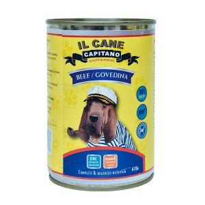 Il Cane Capitano za pse govedina 415g