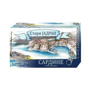 Stari Jadran - sardina u biljnom ulju 100g