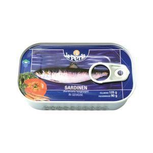 La Perla sardine sa povrćem 125g