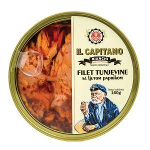 Il Capitano fileti tunjevine sa ljutom paprikom 160g TL