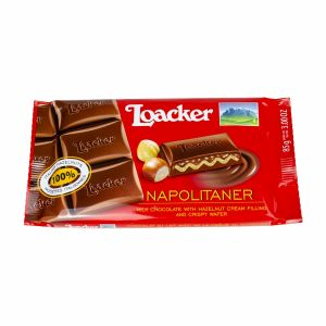 Loacker cokolada sa lešnikom 54g