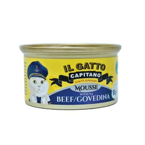 Il Gatto Capitano mousse za macke sa govedinom 85g