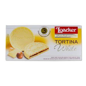 Loacker Tortina bela 63g