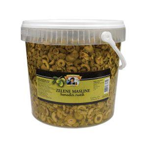 Il Capitano zelena maslina komadici rustik  rinfuz kanta 3kg