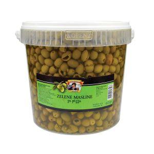 Il Capitano zelena maslina za picu rinfuz kanta 3kg