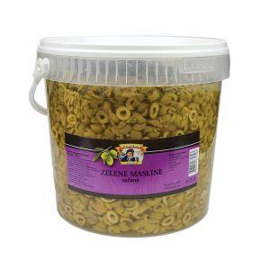 Il Capitano zelena maslina secena  rinfuz kanta 3kg